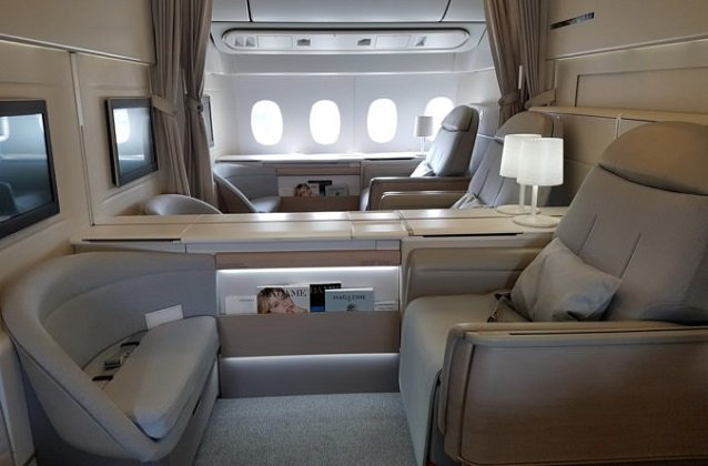 flights with air france